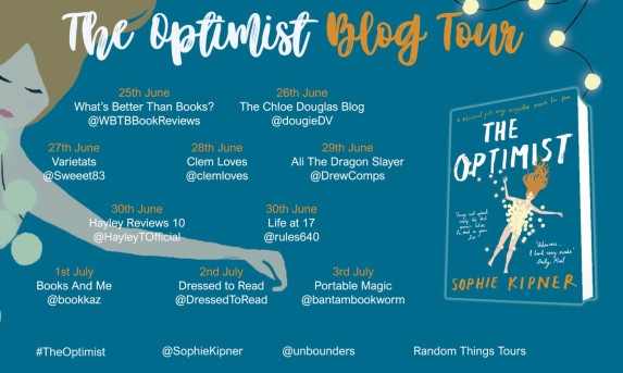 Optimist Blog Tour Poster